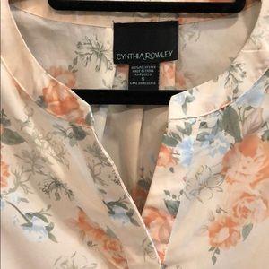 Cynthia Rowley Tops - Cynthia Rowley floral blouse